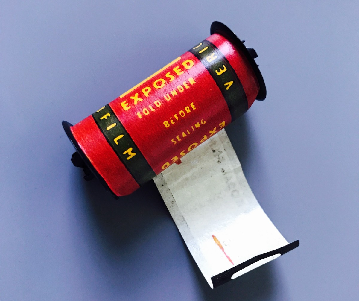 Kodak Verichrome 828 format roll