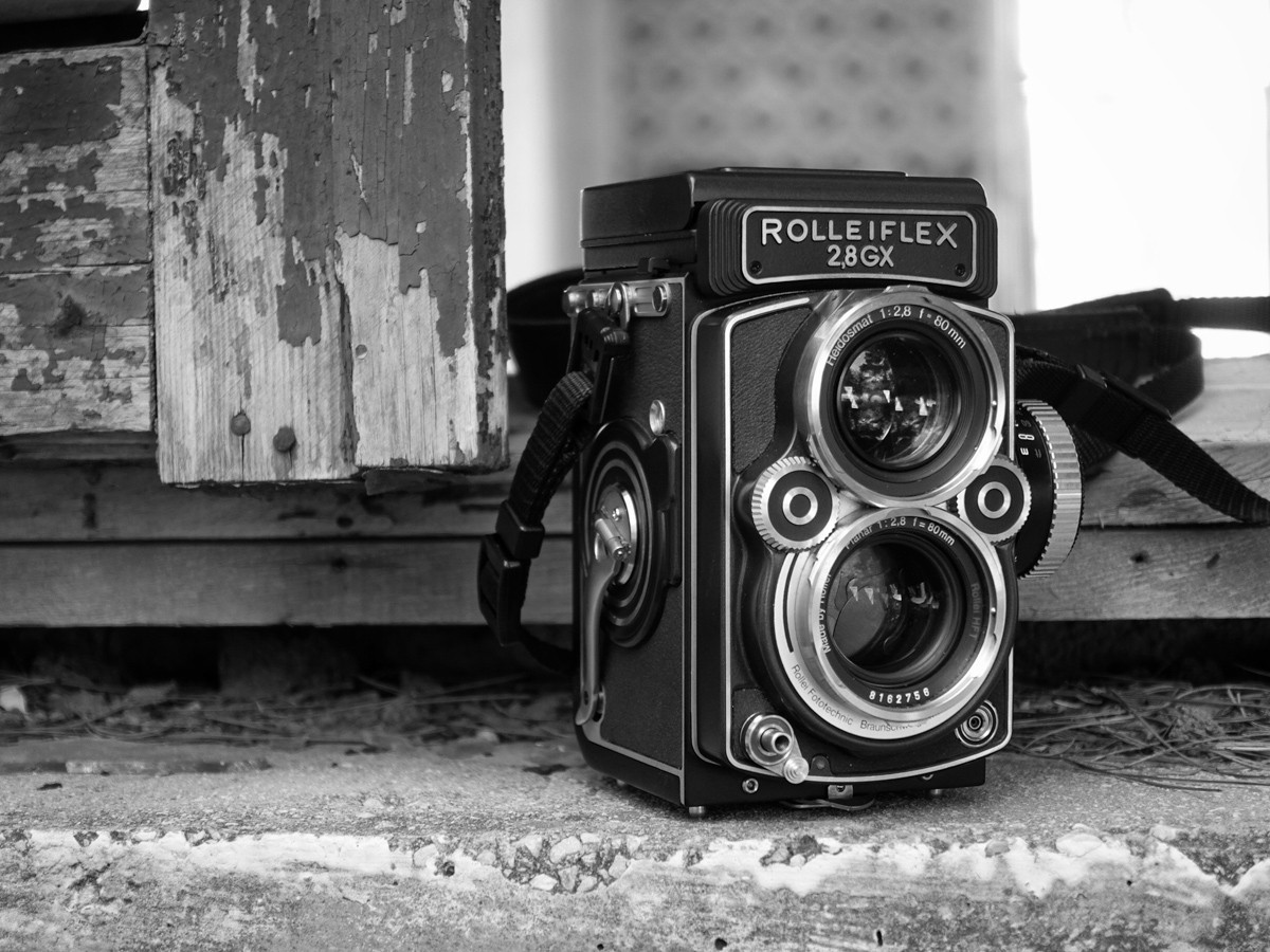 My Rolleiflex 2.8GX
