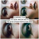 Scanning film: The $20K Imacon 949 vs the $740 Epson Perfection V800