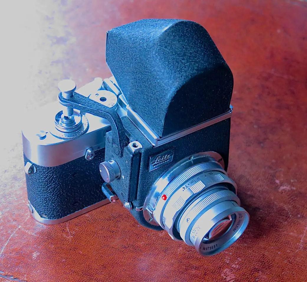 My Leica M1 and Visoflex - John Tarrant