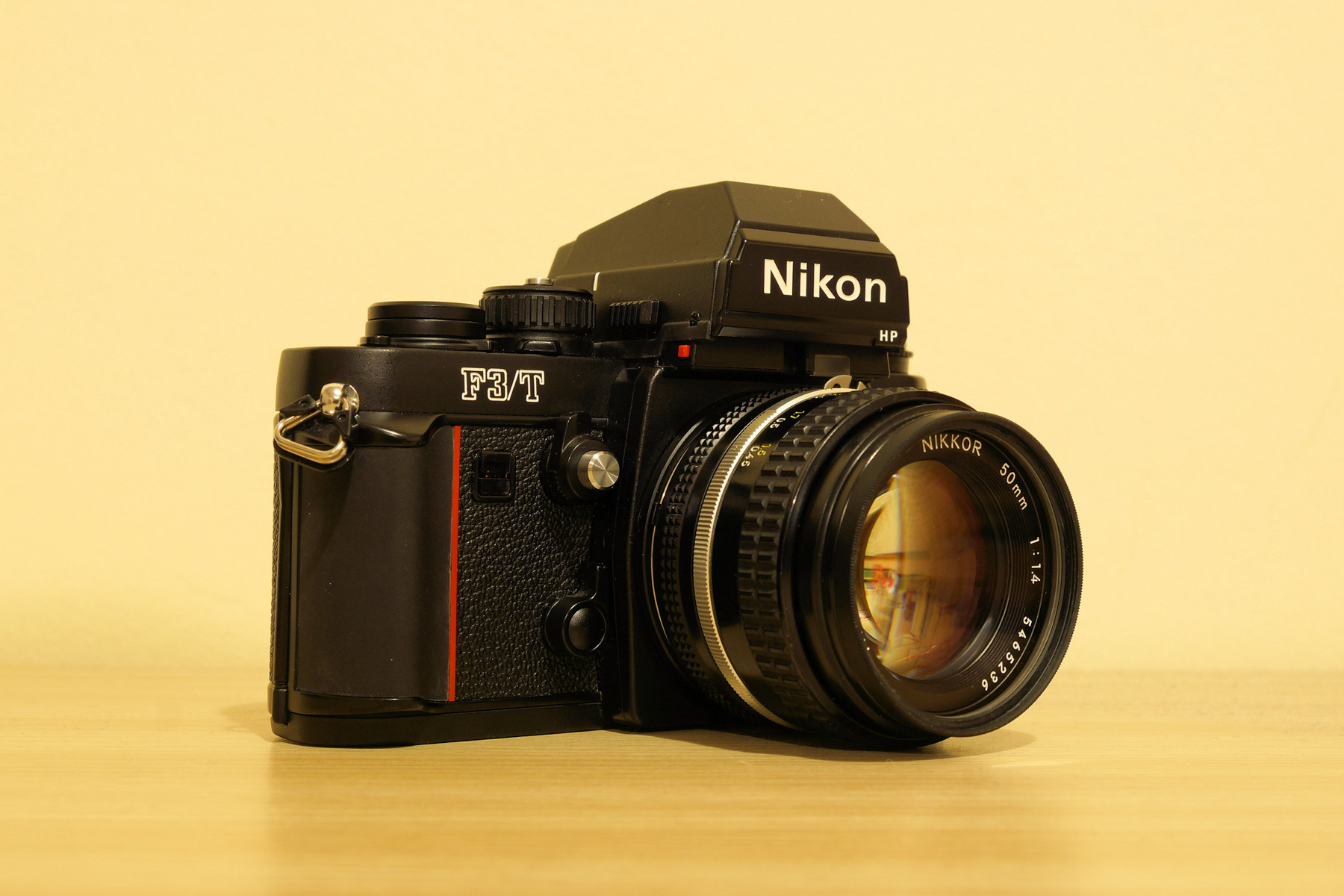 My Nikon F3/T and Nikkor 50mm f/1.4 AI-S