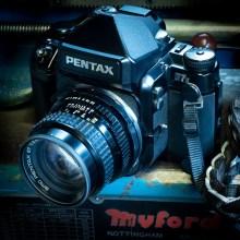 My Pentax 67II and SMC-Pentax 105mm f/2.4