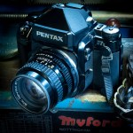 My Pentax 67II and SMC-Pentax 105mm f/2.4