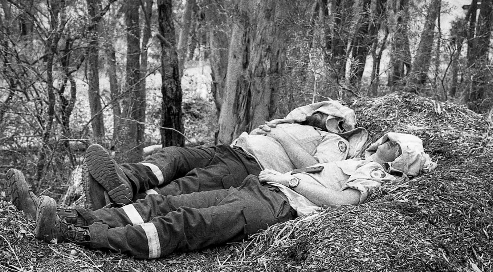 The Australian NSW bushfires on film - Sleeping