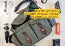 Long-term bag review: The Billingham Hadley Pro 2020, six months and counting…