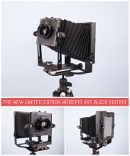 The new limited edition Intrepid 4x5 Black Edition