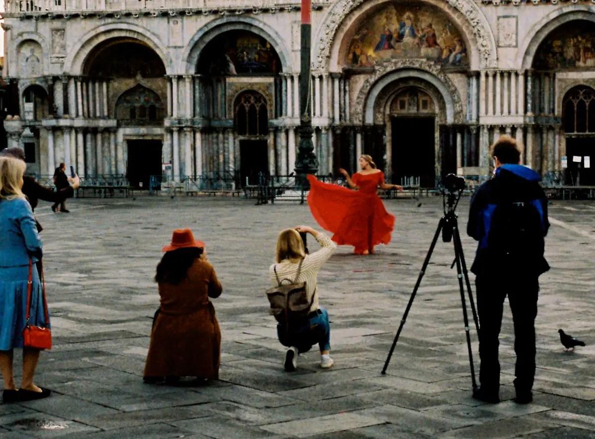 San Marco, Venezia. Portra 400 Shot on an Olympus Trip 35.