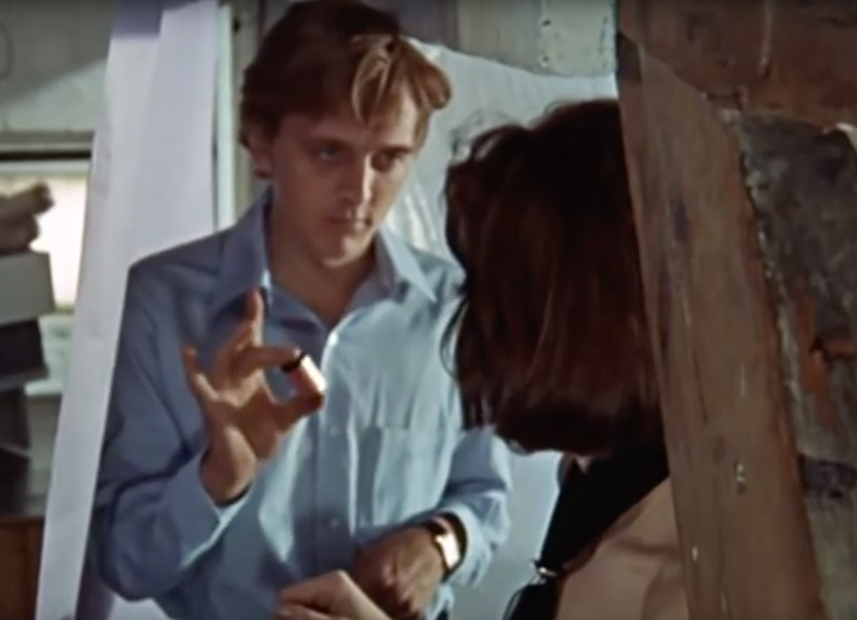 David Hemmings and Vanessa Redgrave in Antonioni's film Blow-Up.