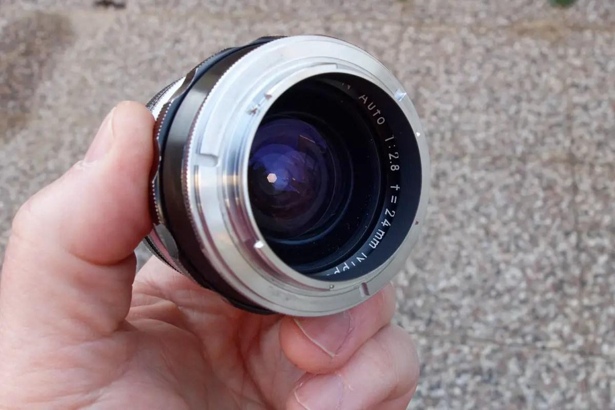 Nikon reverse lens mount ring