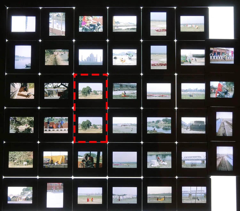 Kodak EKTACHROME E100 slides