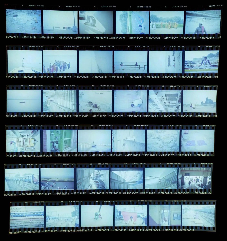 Kodak Pro Image 100 contact sheet