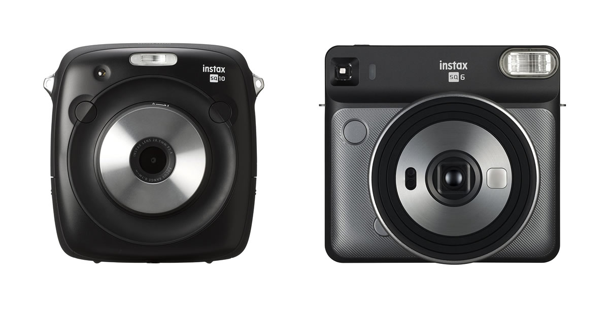 Instax Square SQ10 and SQ6