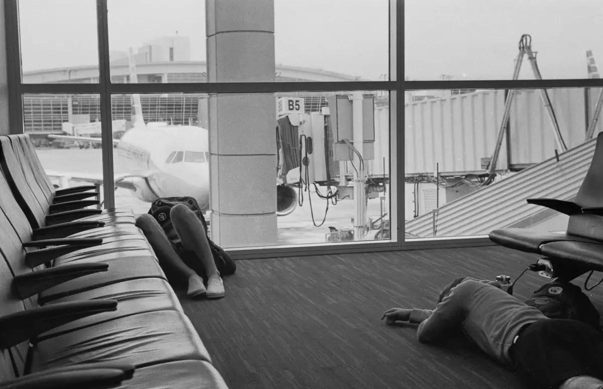 Leica IIIc - 50mm Leica Summitar - DFW airport
