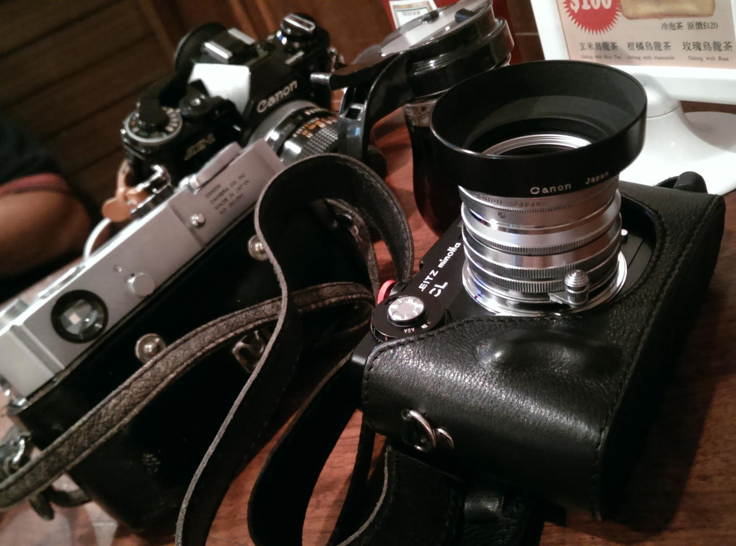 Leica CL and Canon Serenar 50mm f/1.5 LTM lens