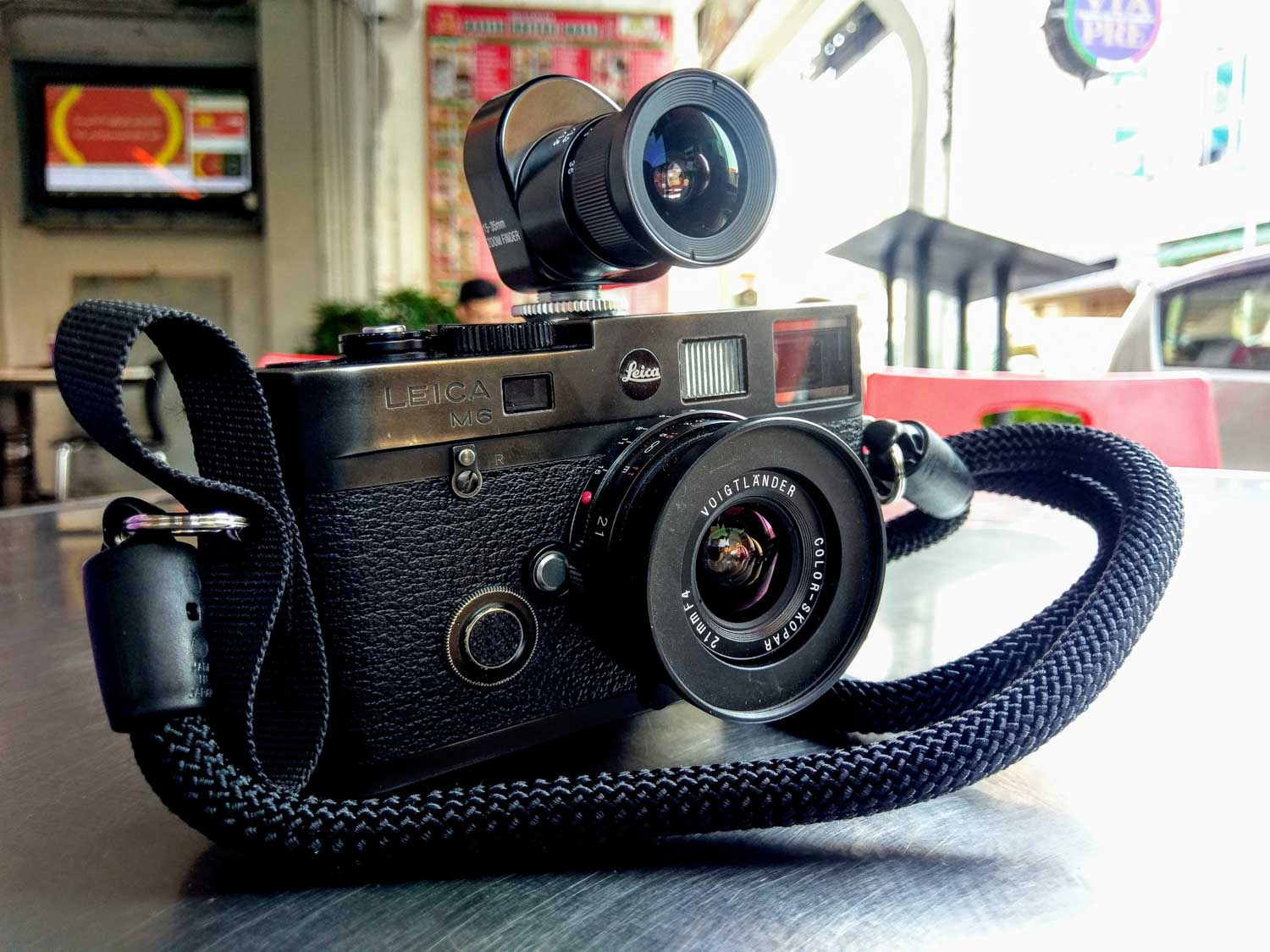 Leica M6 TTL 0.85, Voigtlander Zoom Finder and Color Skopar 21mm f/4