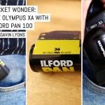 Pocket wonder: The Olympus XA with ILFORD PAN 100