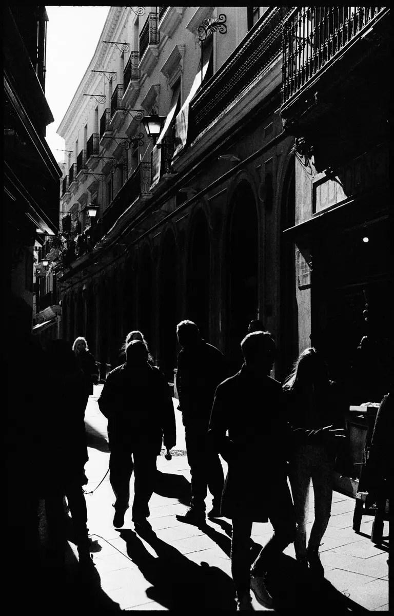 Kodak DOUBLE-X 5222 (EI 400) - Sevilla