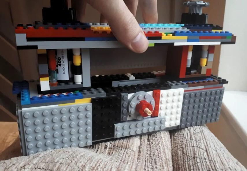 35mm LEGO Pinhole 35mm loading