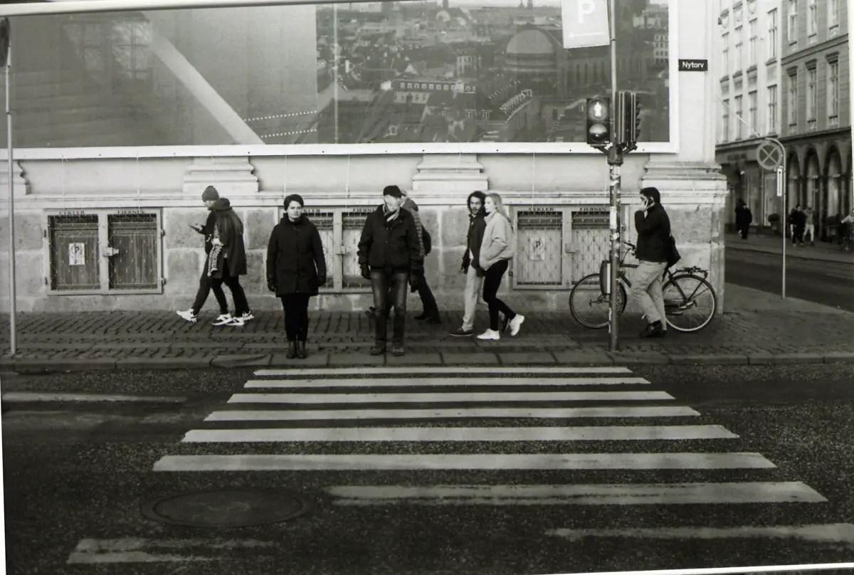 5 Frames... In Copenhagen with CineStill BwXX (35mm formart / EI 250 / Nikon F100) - by Brian Ferguson
