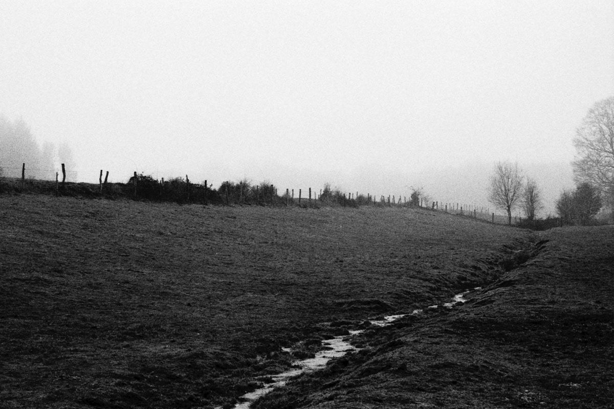 5 Frames... In remote Belgium on Agfa APX 400 (EI 400 / 35mm Format / Nikon F3) - by Nicolas Hanlet