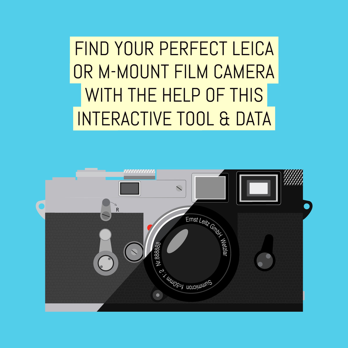 Find your perfect Leica or M-mount film camera with the help of this interactive tool & reference data
