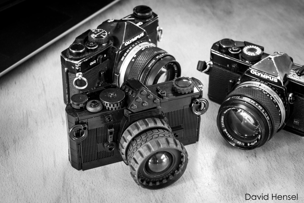 LEGO Olympus OM-1 and family