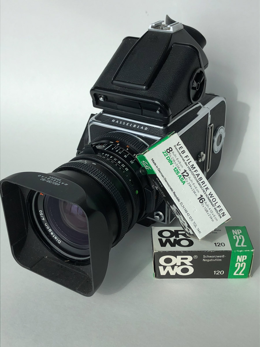 My Hasselblad 500CM and 50mm f/4 Distagon CF FLE - Tim Stephens