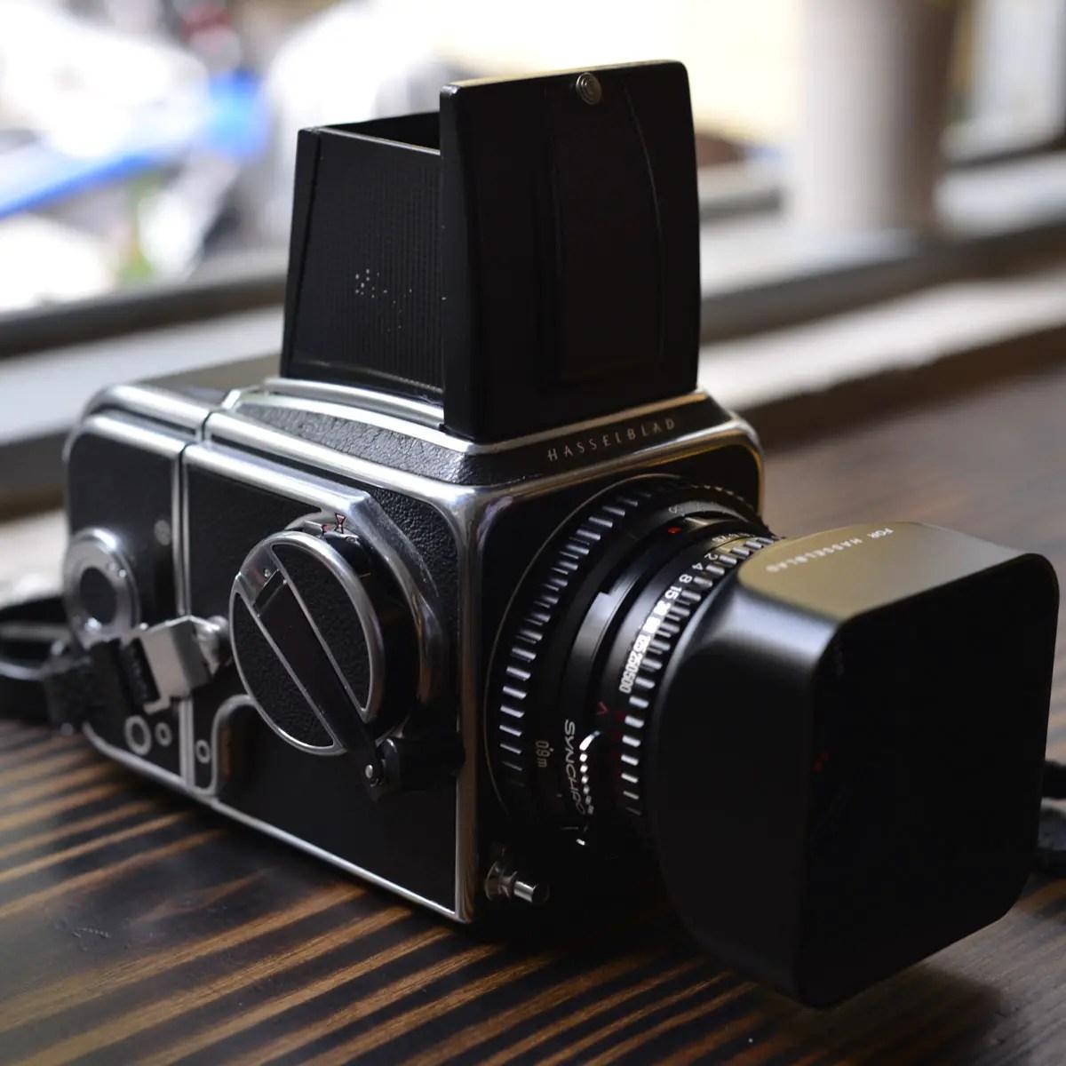 My Hasselblad 500C/M