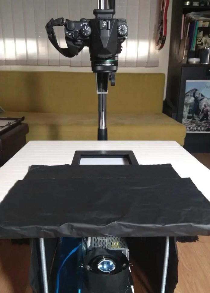 My scanning rig