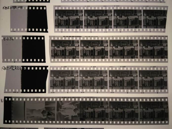 Phone scan of all films to compare fog