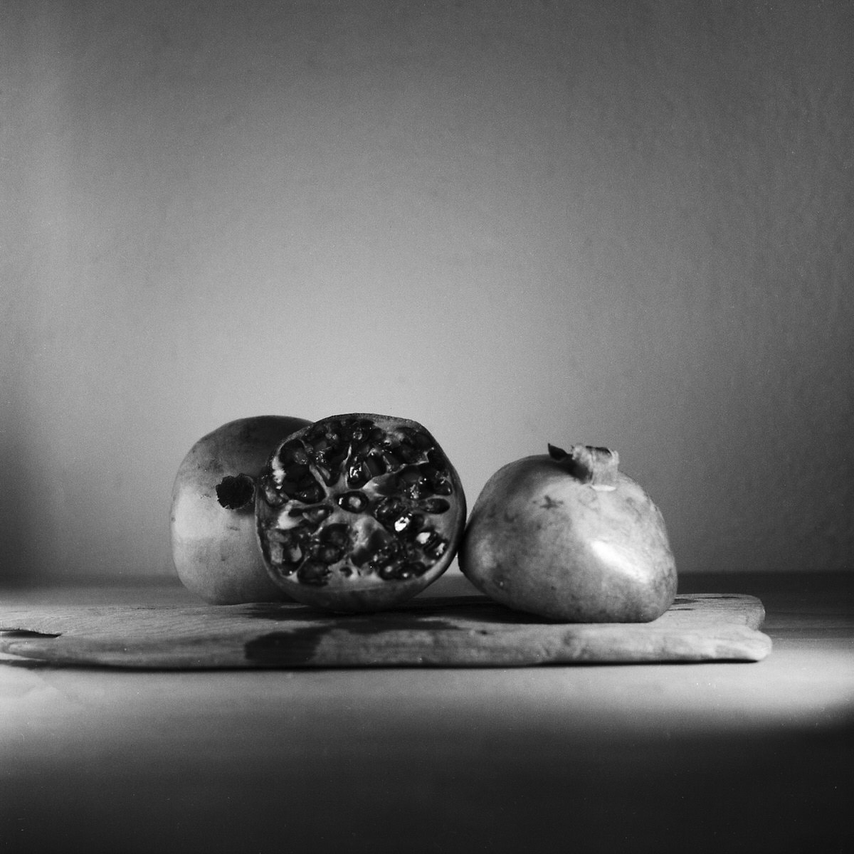 Pomegranate – Still Life Photography - Yashica MAT-124 with Fomapan 200 Creative
