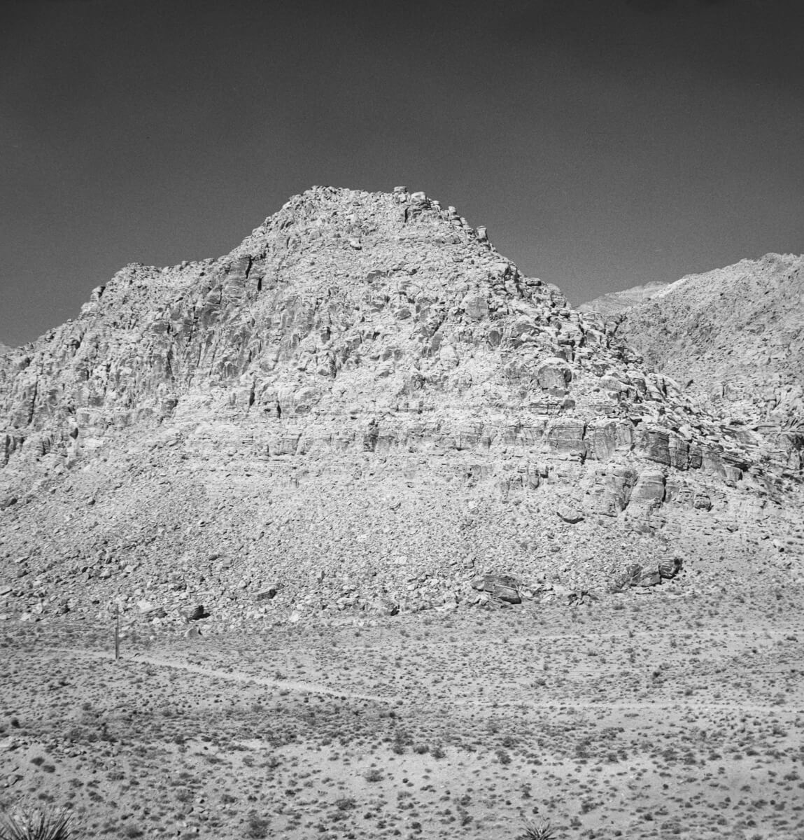 Red Rock Conservation Area - ILFORD FP4 PLUS - Certo Six