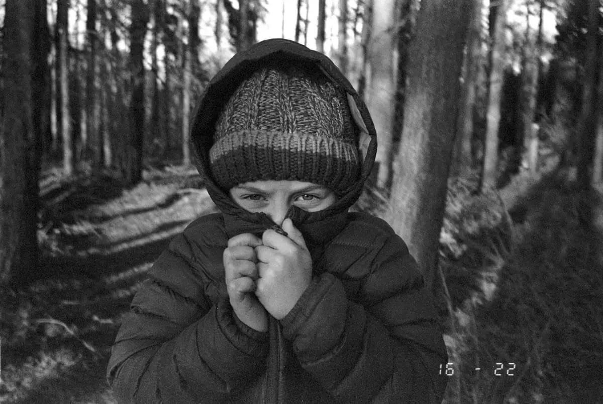 5 Frames... Of Kodak BW400CN (EI 400 / 35mm format / Olympus AF-1) - by Kiel Murphy