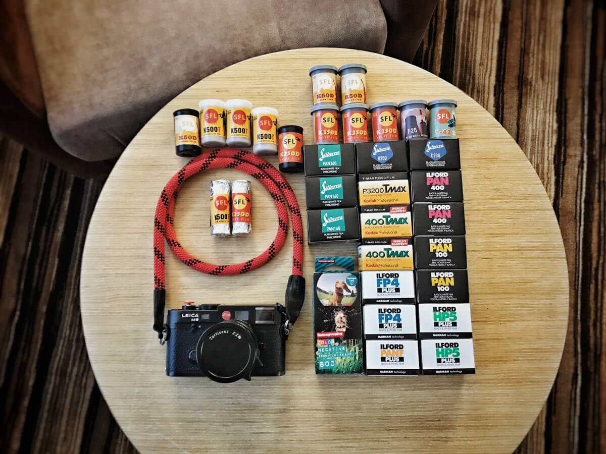 Leica M6, 7artisans 50mm f/1.1 and Russian film haul