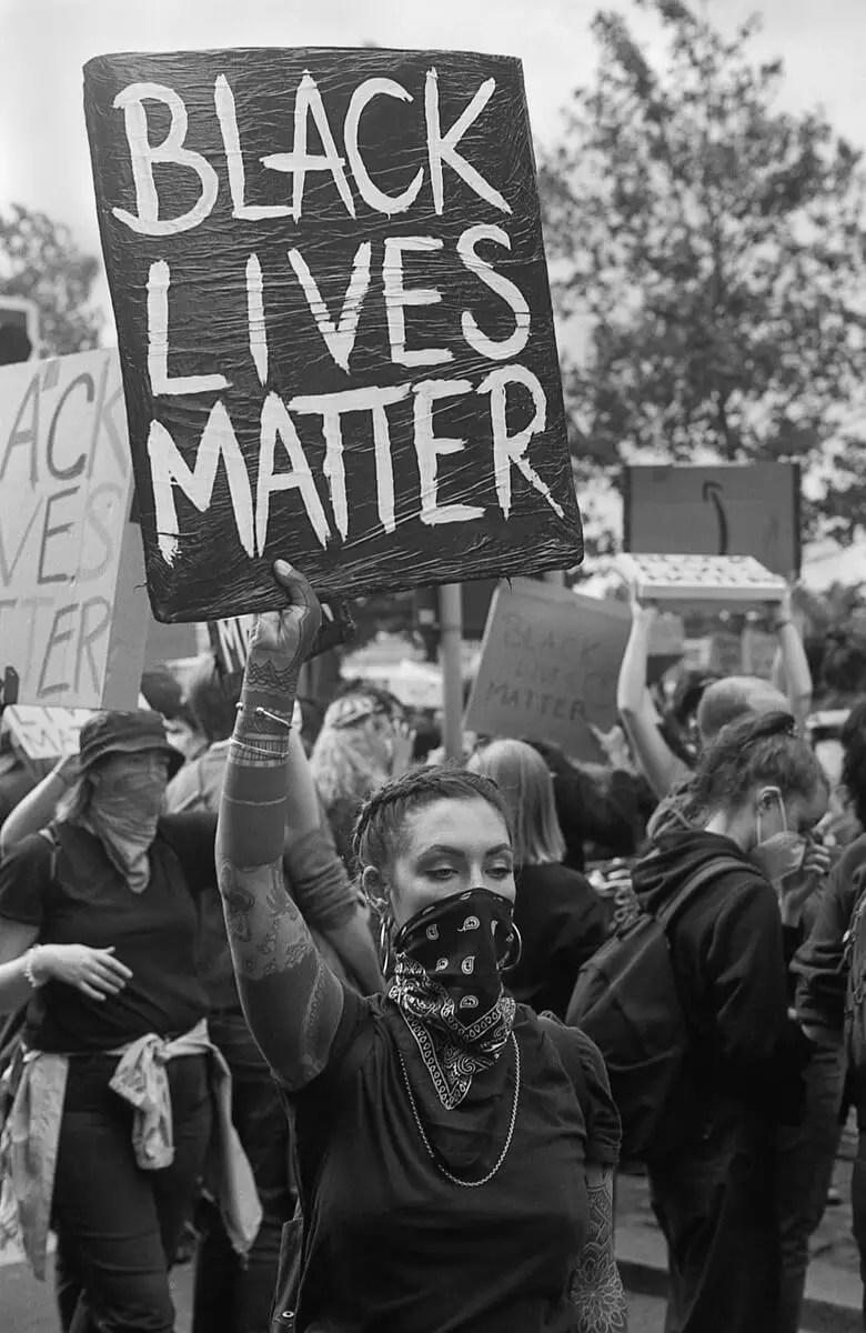 Black lives matter - #BlackLivesMatter, London June 7th 2020