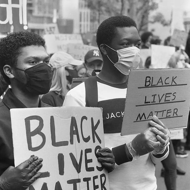 Black lives matter, black lives matter - #BlackLivesMatter, London June 7th 2020