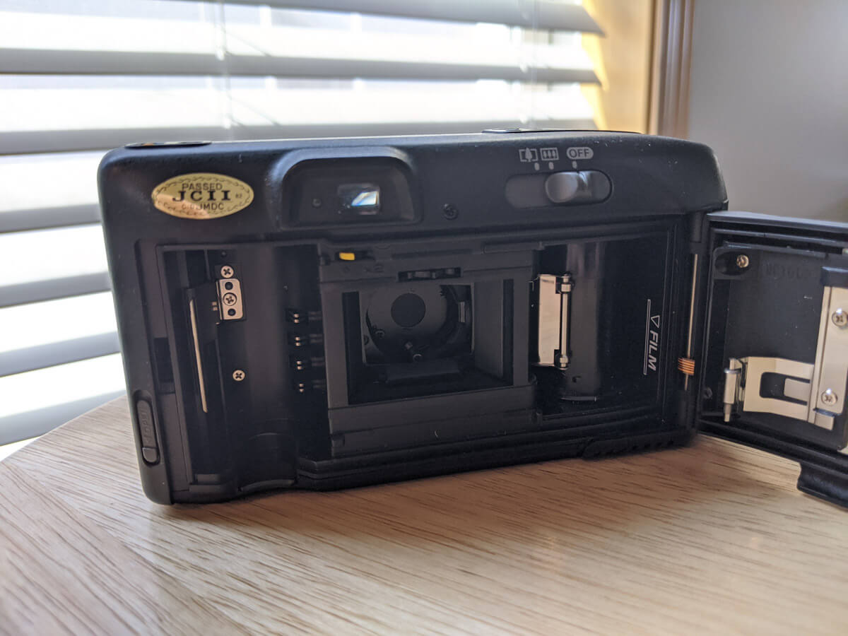 Canon SURE SHOT MULTI TELE - Full Frame Gate
