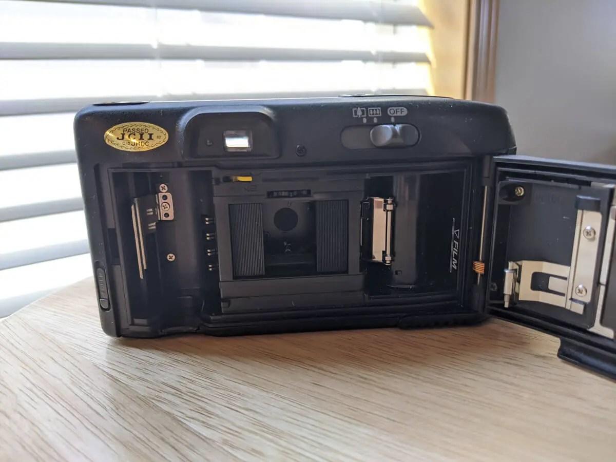Canon SURE SHOT MULTI TELE - Half Frame Gate