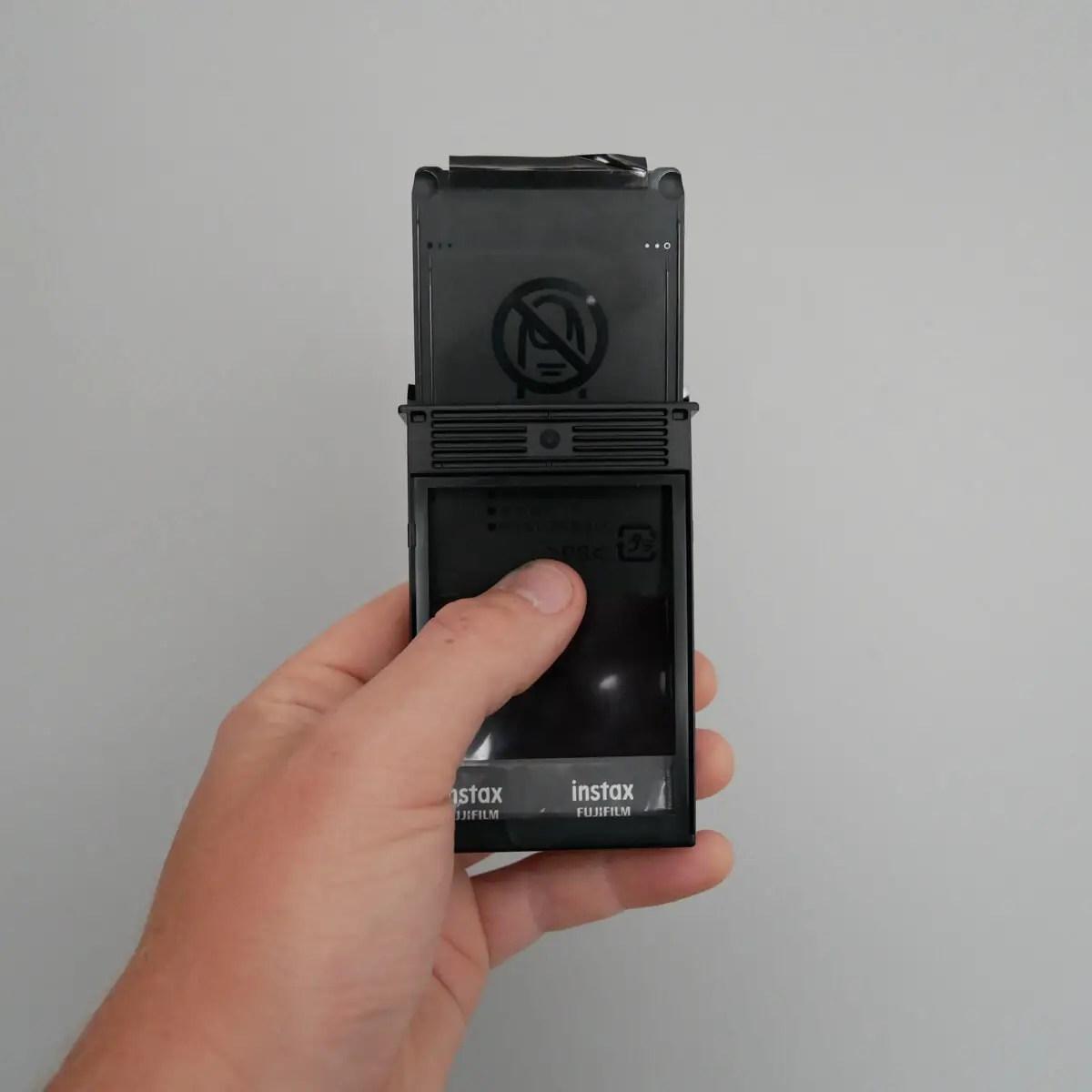Extraction 2 - Fujifilm Instax Mini in a 35mm camera