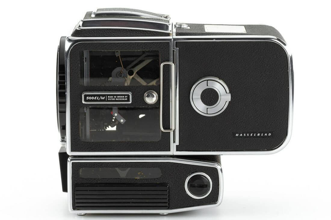 Leitz Photographica Auction - Hasselblad 500 ELM cut-away (left)