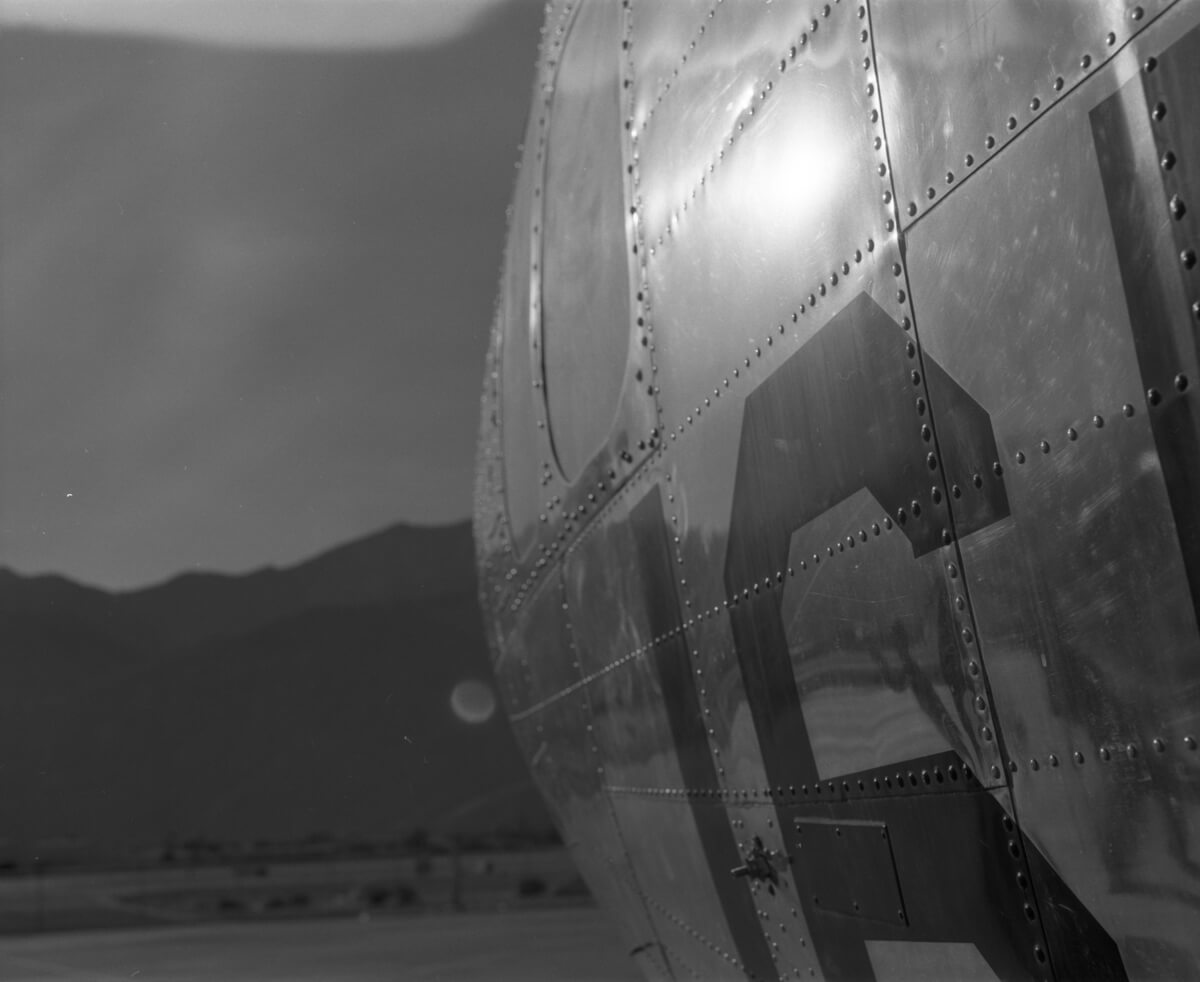 My First Roll... Of 120 film - ILFORD HP5 PLUS on a Mamiya RB67 at Palm Springs Air Museum - Ryan HK