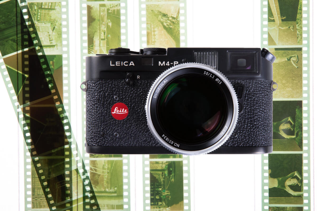 My Leica M4-P and those LomoChrome Purple XR 100-400 negatives