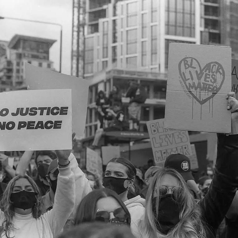 No justice no peace - #BlackLivesMatter, London June 7th 2020