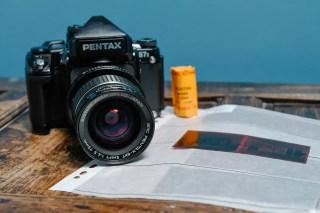Pentax 67II and SMC Pentax 6x7 Shift 75mm f/4.5