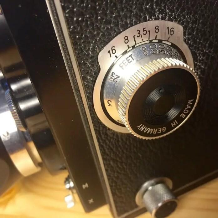 Rolleiflex MX - Focul dial