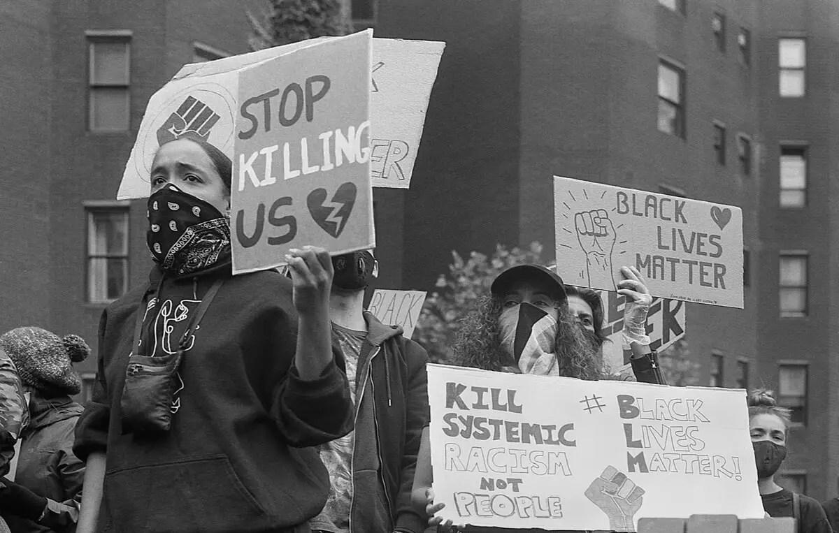Stop killing us - #BlackLivesMatter, London June 7th 2020