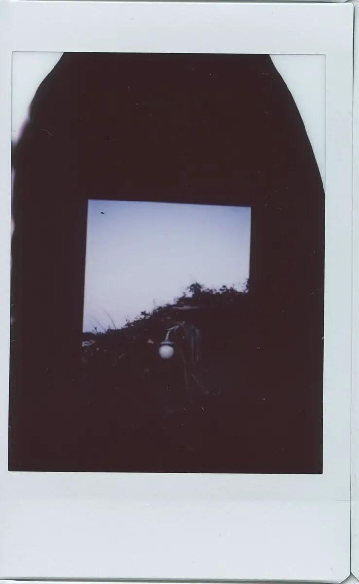 Fujifilm Instax Mini in a 35mm camera