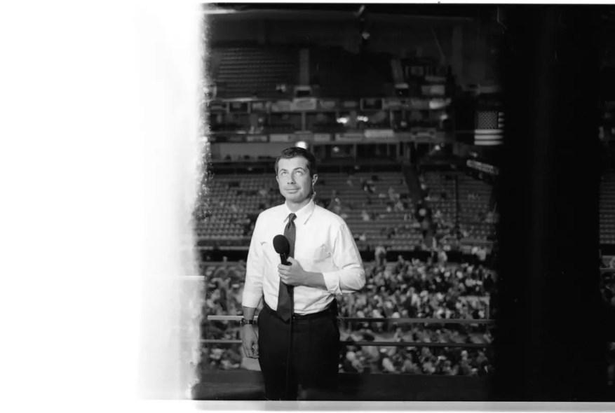 Pete Buttigieg 1st of the Roll - Leica M6 - Kodak Tri-X 400
