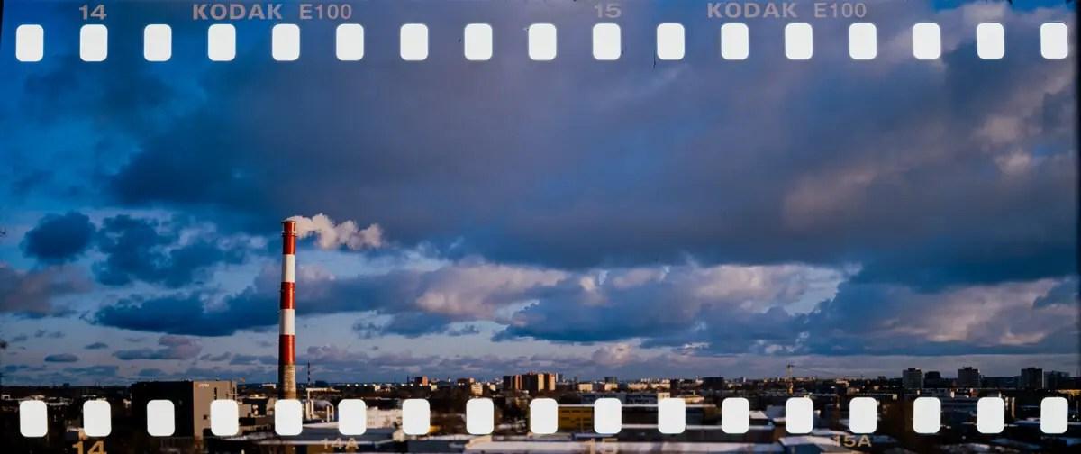 5 Frames... Of 35mm film in a Fuji GSW690II: Fun with my TEXPan (EI 100 / 35mm format / Kodak Ektachrome E100) - by Andrei Pugatšov