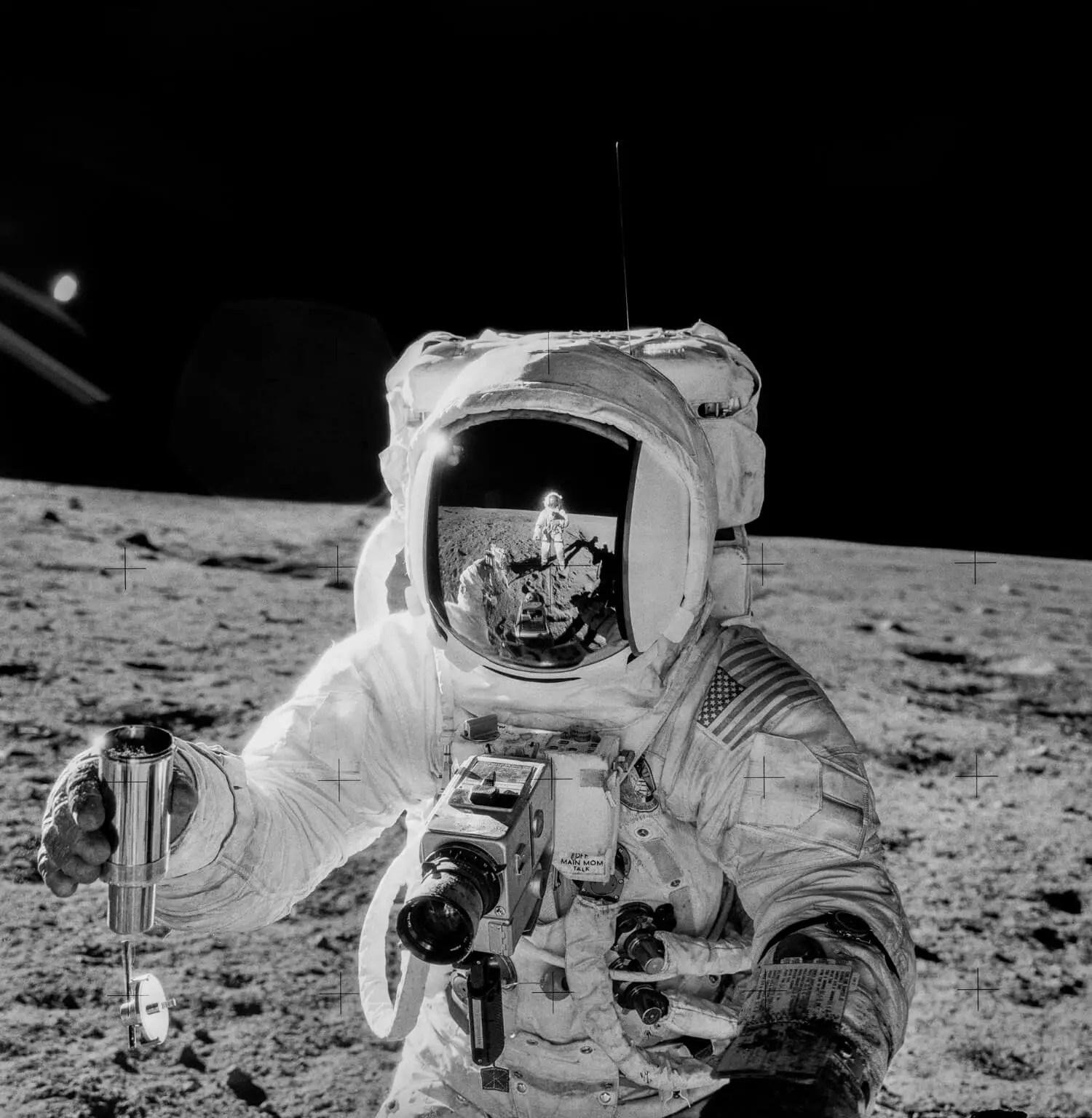 Apollo 12, Alan Bean - Original - Remastered